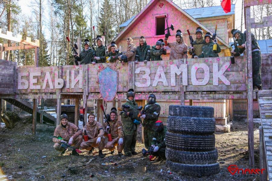 Пейнтбол в СПб