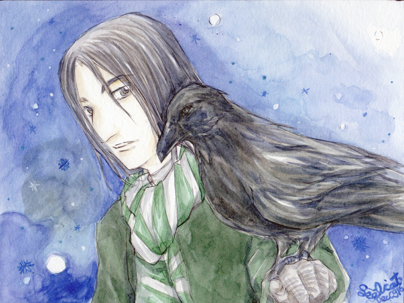 Severus and Raven (G)