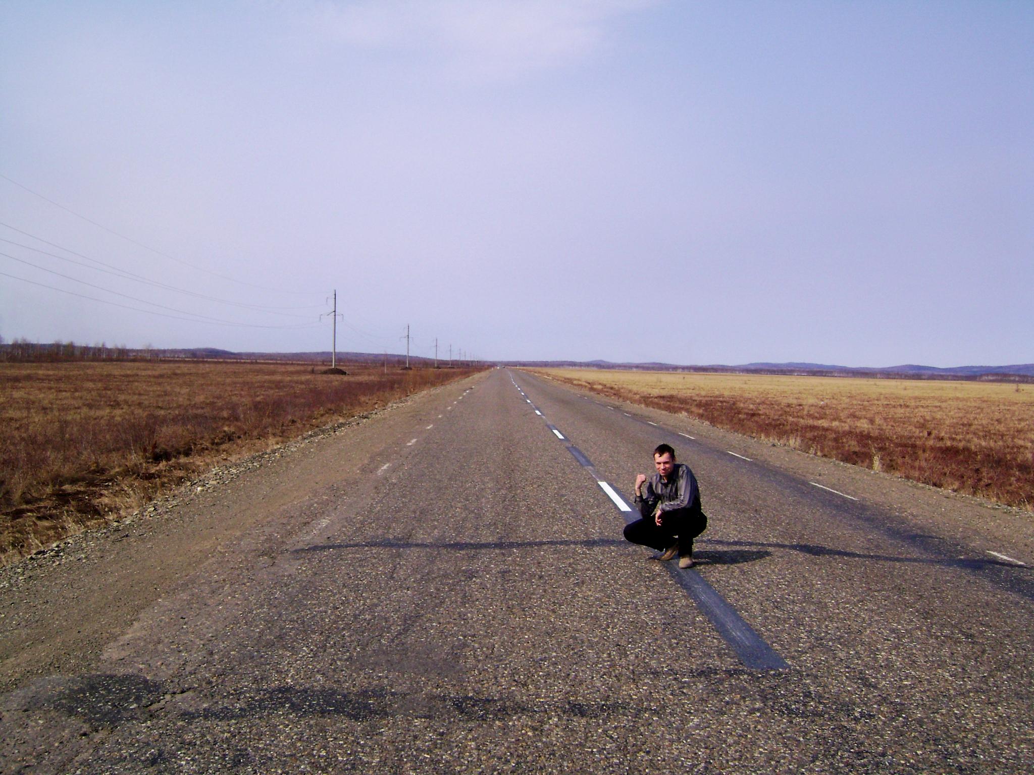 картинки дорога в даль на машине
