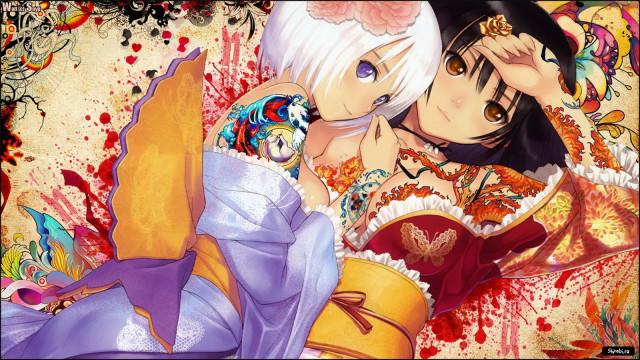яркие картинки аниме