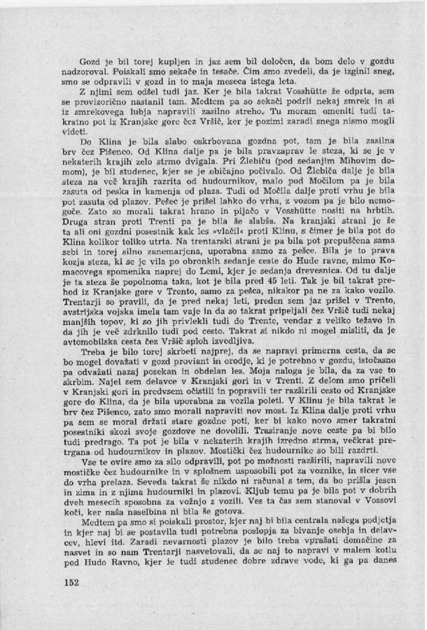 Franc Uran - Cesta na Vrsic - 2