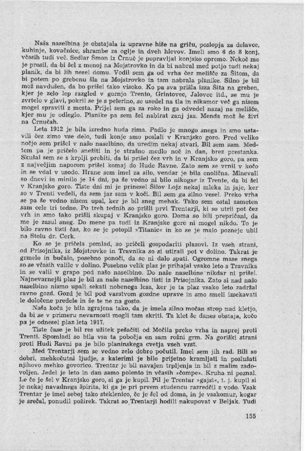 Franc Uran - Cesta na Vrsic - 5
