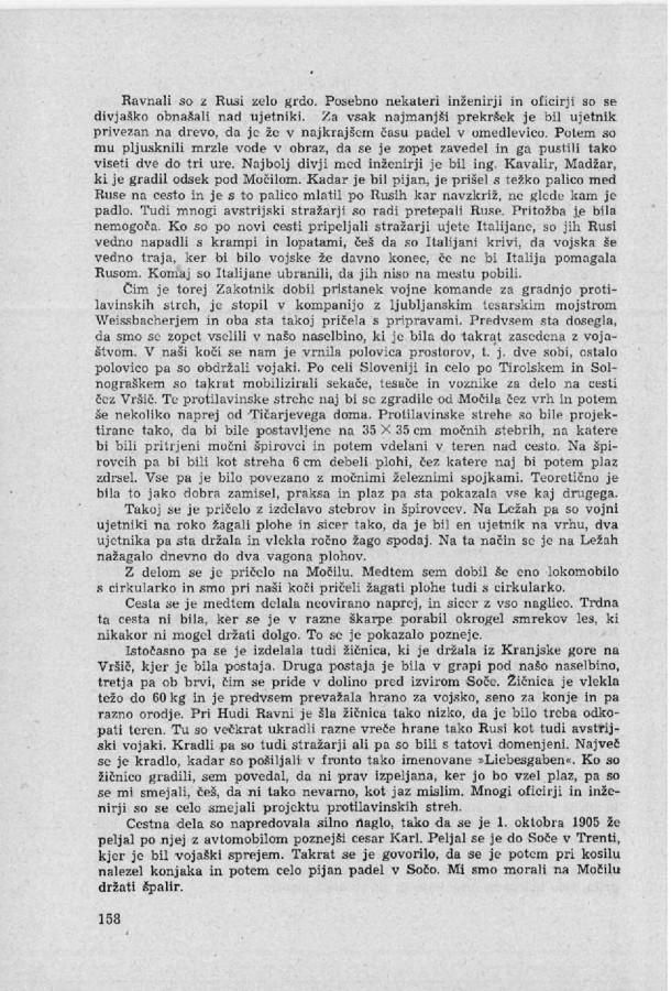 Franc Uran - Cesta na Vrsic - 8