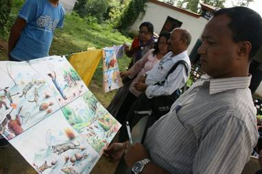 pokhara art judging