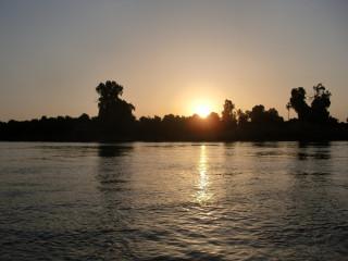 Sunset on Nile, No.1