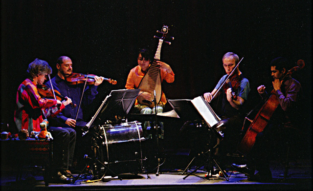 Kronos Quartet and Wu Man