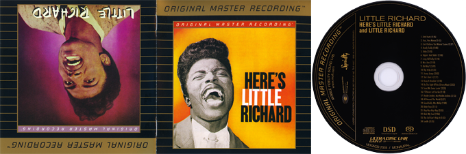 Little Richard. Here's Little Richard. Creedence Clearwater Revival. Fantasy. DSD Super Audio. Original master recording