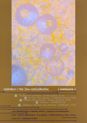 CISFINITUM / THE [LAW-RAH] COLLECTIVE. [ANS]werk (2011)