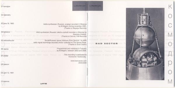 Bad Sector – Kosmodrom (Waystyx, 2005)
