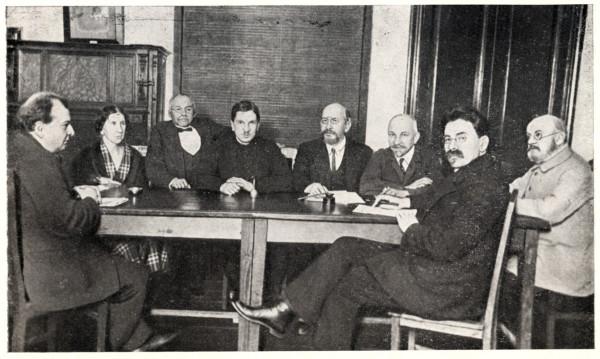 Гарбузов Н.А. и правление ГИМНа (1926)