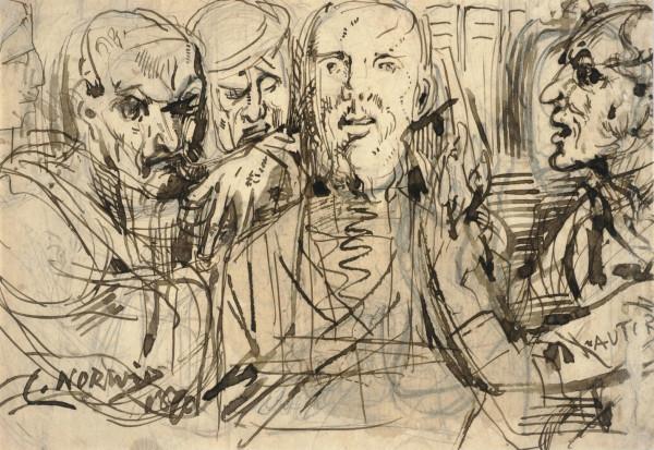 Рисунок Циприана Норвида