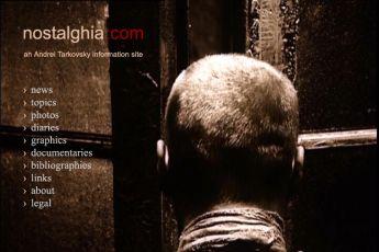 www.nostalghia.com -  Сайт, посвящённый Андрею Тарковскому