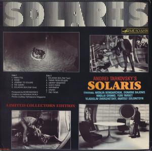 ANS. Solaris Soundtrack. Japan. LP