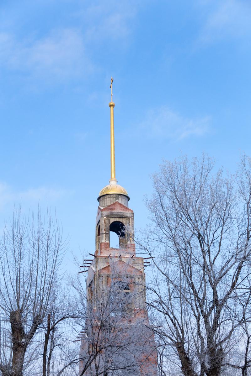 Колокольня Спасского кафедрального собора г.Пензы. Penza, Russia