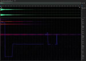 Звуковысотный спектр звучания лёгкого колокола. Spectral pitch display of light bell sound