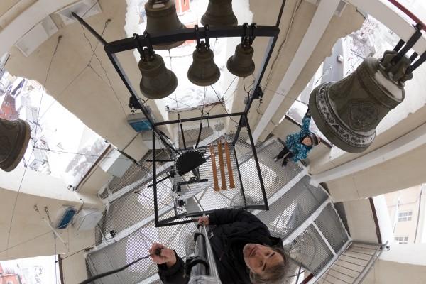 belfry, bell-ringing, bells, chimes, score, moscow, звонница, Высоко-Петровский монастырь, колокола, колокольный звон, Москва, ноты, партитура, управление, фото