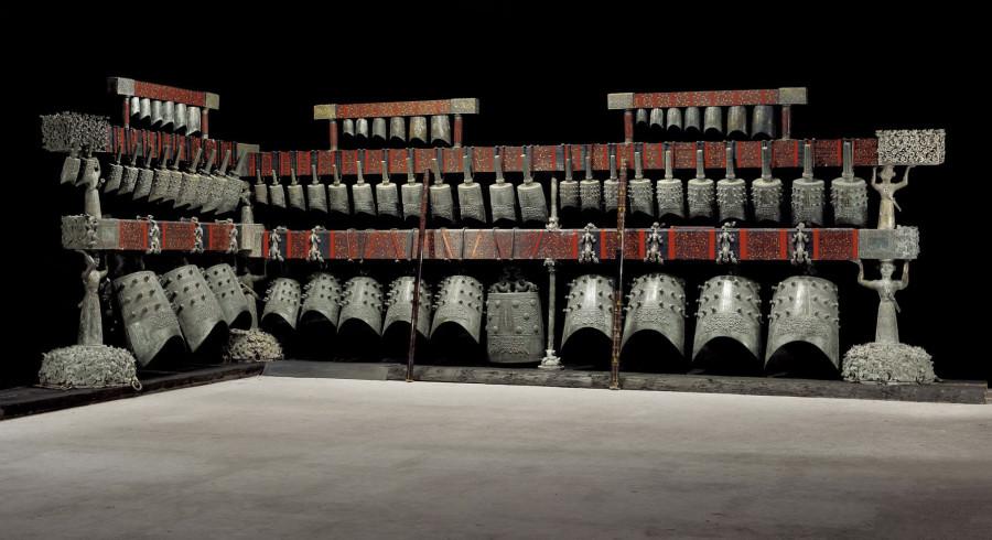 Zhong bell set from Zenghou Yi tomb. Набор колоколов из гробницы Цзэнхоу И