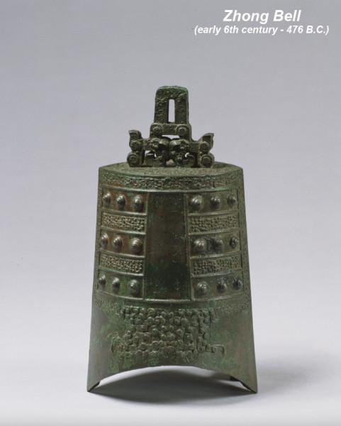 Zhong bell, ancient China (early 6th century - 476 B.C.). Колокол чжон, древний Китай (6-5 века до н.э.)