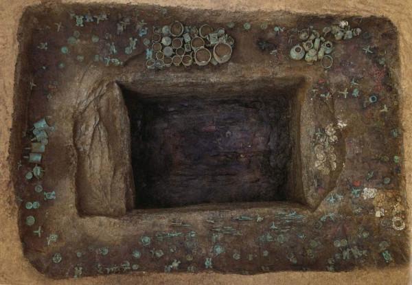 Tomb M111, Yejiashan, ancient China. Гробница M111, древний Китай, Ецзяшан