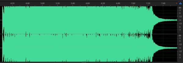 Перегрузки при записи звука