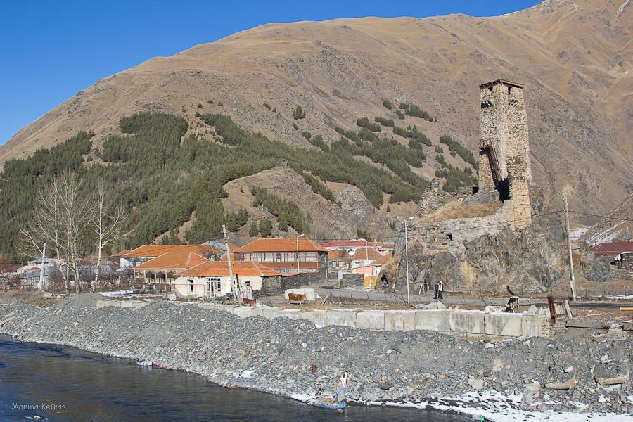 Гудушаурская Крепость в селении Сно