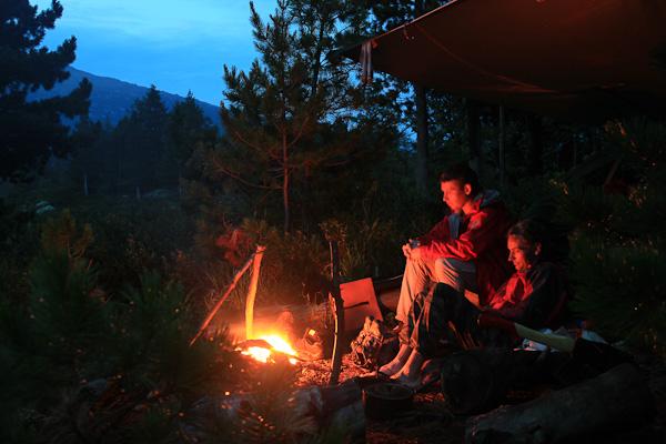 Мир через картинки и впечатления - Романтика костра и палатки