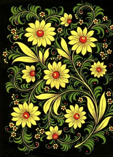 Khohloma Russian Folk Art From Russia With Love Soul