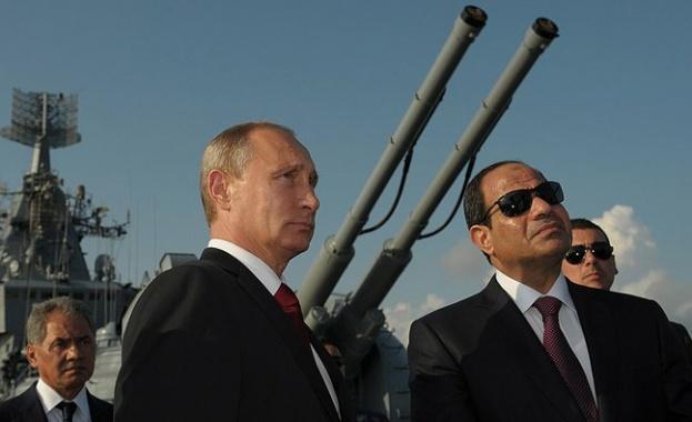 Путин в египе 1