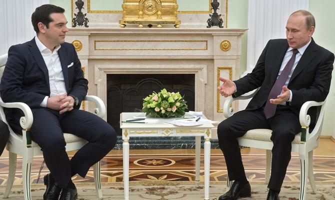 Путин-Греция