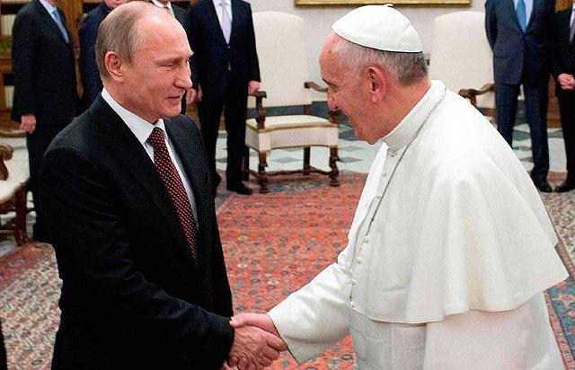 Путин-Папа