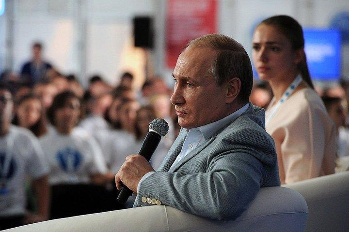 Путин - голова