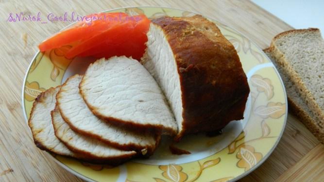 Свинина печеная в мультиварке1