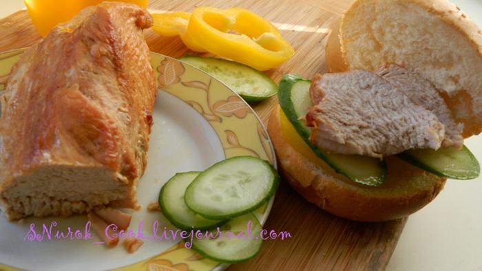 Индейка бутерброд1