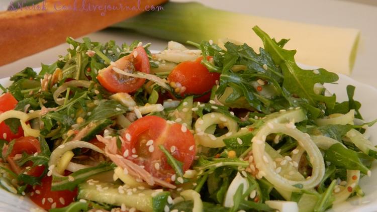 Салат с тунцом1