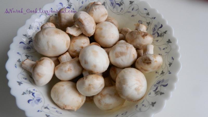 Как сделать грибы с макаронами
