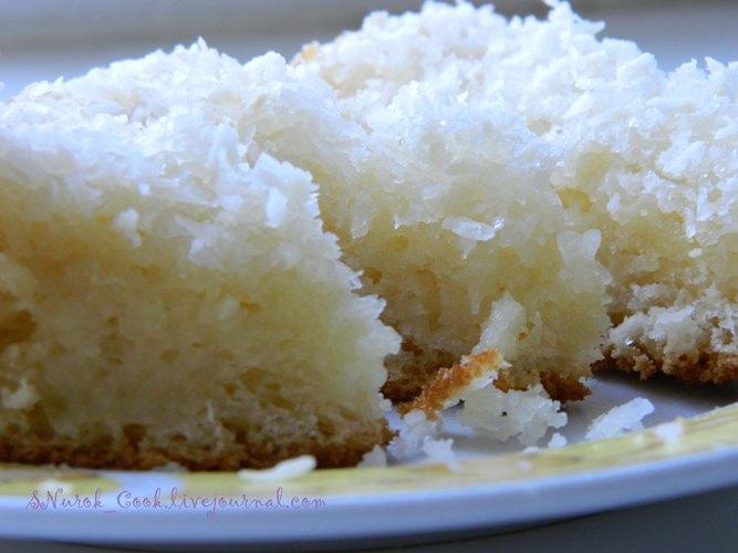 Пироги с кокосовой стружкой