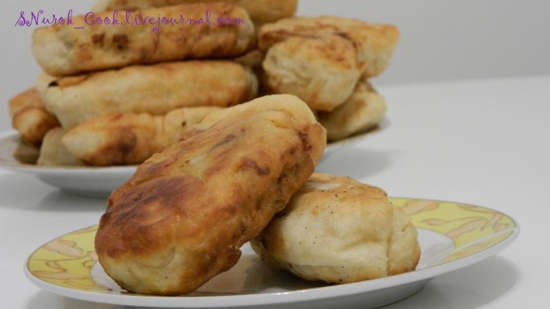 Пирожки с картошкой и грибами1