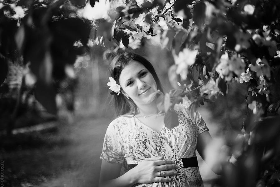 фотосессия-беременной-весна