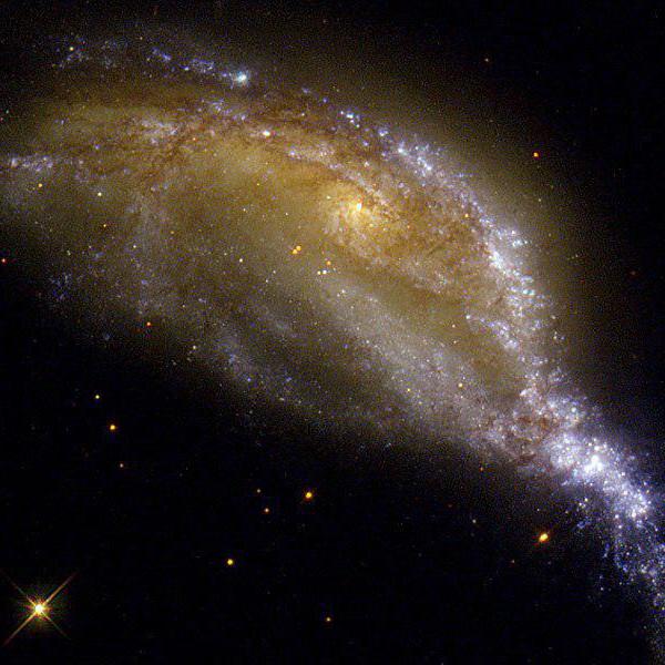 Столкновение галактик NGC 6745