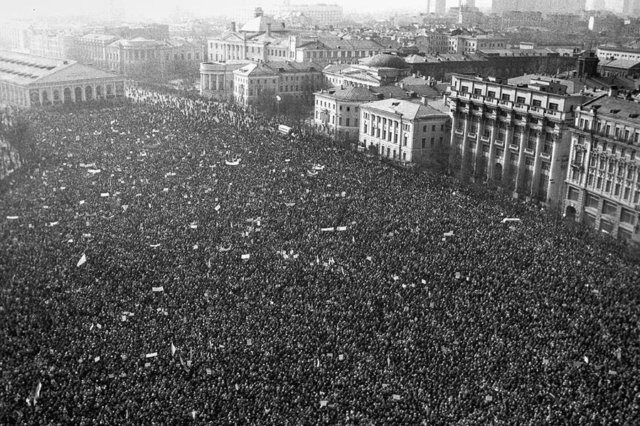 Московские митинги