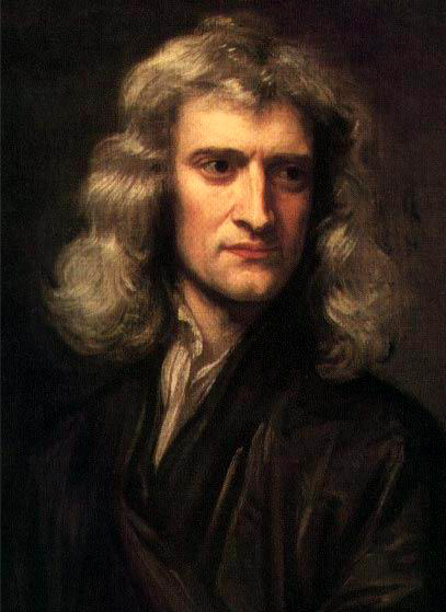 Sir Isaac Newton. By Godfrey Kneller, 1869 picture
