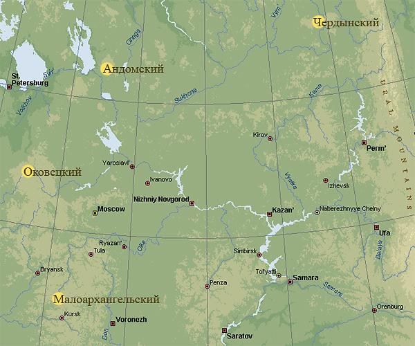 Davydov_Oleg_2012_12_13_4_forests_Okovetski_Maloarkhangelski_Andomski_Cherdynski