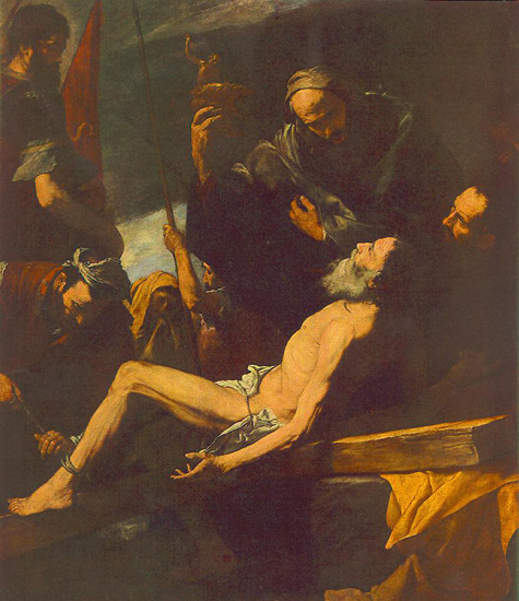 Davydov_Oleg_2012_12_13_Andrew_First-called_execution_by_Juseppe_de_Ribera