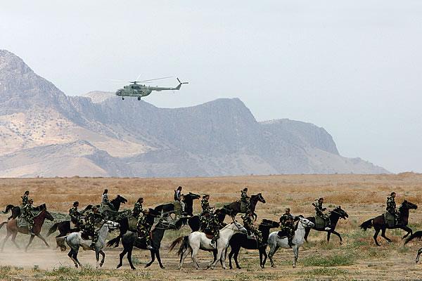 ODKB_2007_April_Rubezh-2007_05_Kyrgyz_cavalry_VPK_Leonid_Yakutin