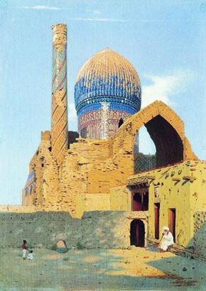 Vereschagin_1869-1870_Masoleum_Gur_Emir_in_Samarkand