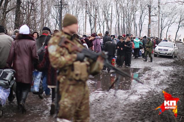 Euromaidan_2015_02_03_Ulgegorsk_opolchenie_video_www_kp_ru