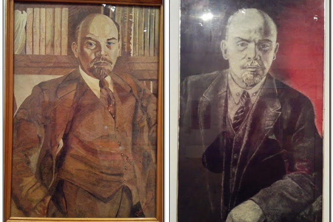 Lenin_1930th_paintings_from_jew_Iosif_Slavkin