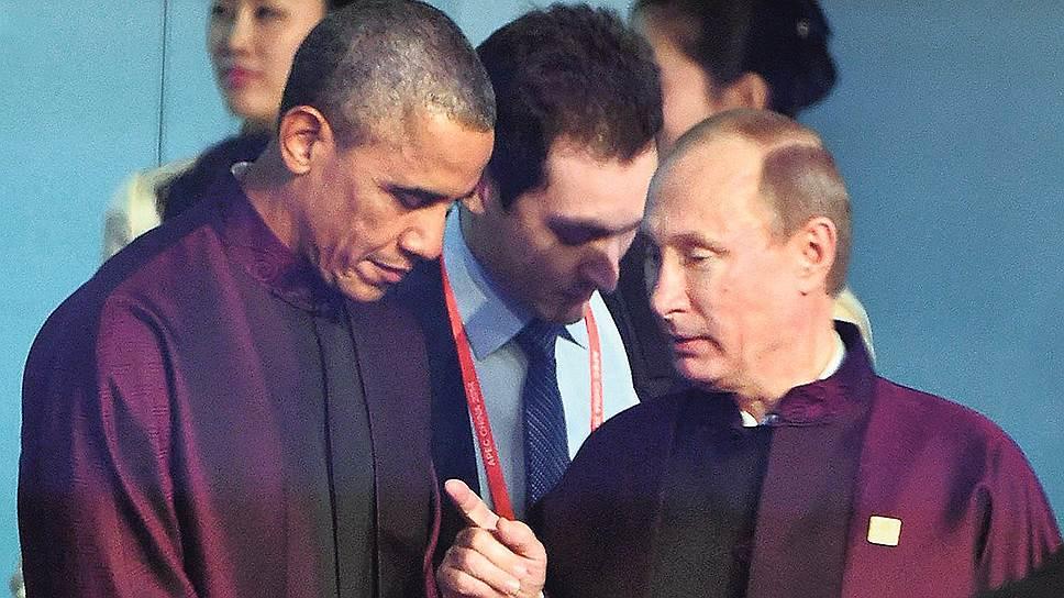 Putin_2014_11_10_APEC_Beijing_2_Obama_Putin_Kommersant_Dmitriy_Azarov