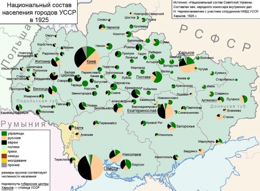 map_Ukraine_ethnic_1925_Cherlunchakevich_N_A_cities_before_Census_1926_Politicheskaya_propaganda_2015_03_10_LJ_k2-3300