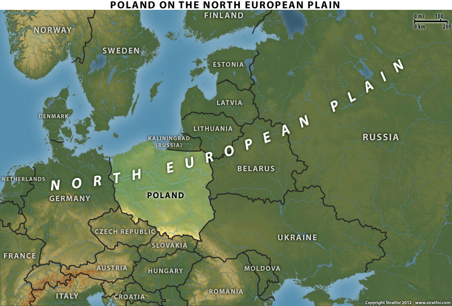 Stratfor_Poland's_strategy_2012_08_28_1_North_European_Plain
